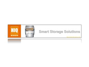 SMART STORAGE SOLUTION_HiQ